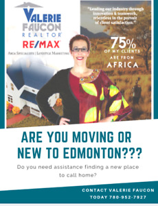 ARE YOU NEW TO EDMONTON? NEED SOME HELP FINDING A HOME?