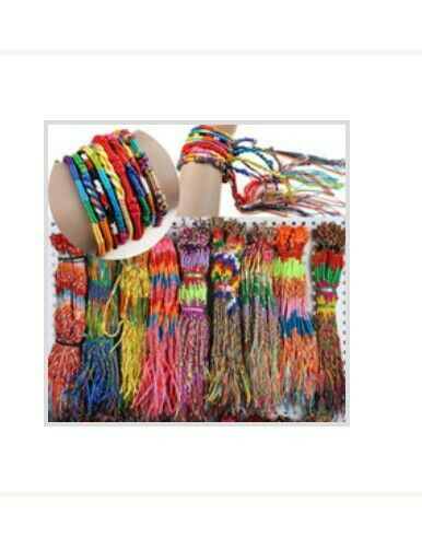 New 150pc Colorful Handmade Bracelet Wholesale Lot