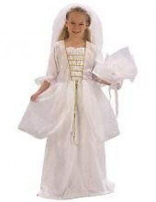 GIRLS BRIDE SNOW QUEEN PRINCESS FANCY DRESS - Girls Snow Queen Kostüm