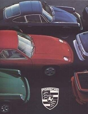 1978 Porsche Brochure, 911, 911 SC, Turbo, 924, 928 Original 78