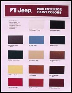 Cj Paint Colors