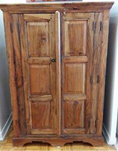 Gorgeous Wood Armoir