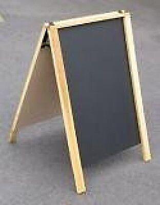 Economy 24 X 36 A-frame Wchalkboard Sidewalk Message Menu Board Sign Usa