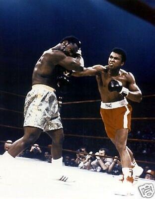Muhammad Ali Joe Frazier 1971 Superfight 10x8 Photo