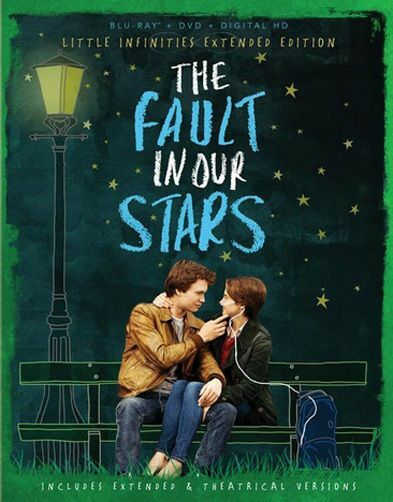 Fault In Our Stars (Blu-ray/DVD, Digital/UV, 2014, Multi -Language) NEW