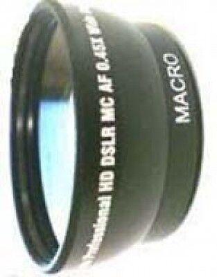 Wide Lens For Jvc Gz-ms130aus Gz-ms130b Gzms130aus Gz-ms1...