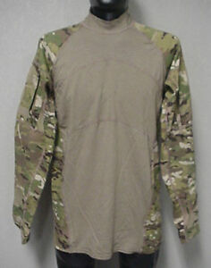 USGI-MULTICAM-ARMY-COMBAT-SHIRT-ACS-MASSIF-LARGE-USED-FLAME-RESISTANT