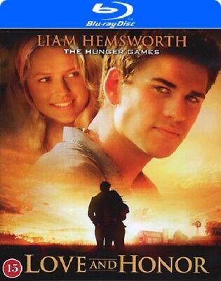 Love and Honor (2013) Blu-ray Region B Europe sealed Liam Hemsworth (Hemsworth B)