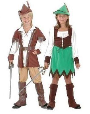 Robin Hood Jungen Und Mädchen Kostüm Kleid Kostüm E 4 Stile