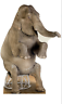 ELEPHANT - CIRCUS PARTY - LIFE SIZE STANDUP/CUTOUT BRAND NEW - 1480