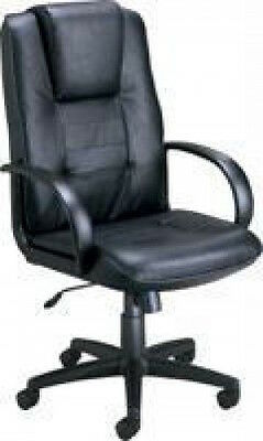 New Ofm Quality Leather Office Chair 500-l High Back Executive Conference Chair