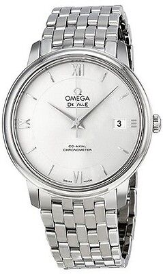 424.10.37.20.02.001 | OMEGA DEVILLE PRESTIGE | NEW CO-AXIAL AUTOMATIC MENS WATCH