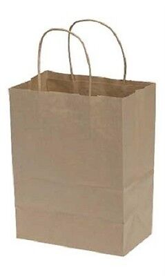 Bags Paper Cub Kraft Shopping 250 8 X 4 34 X 10 14 Retail Merchandise Gift