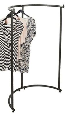 Half Round Clothing Rack Pipeline Collection Vintage Garment 37 12 X 55