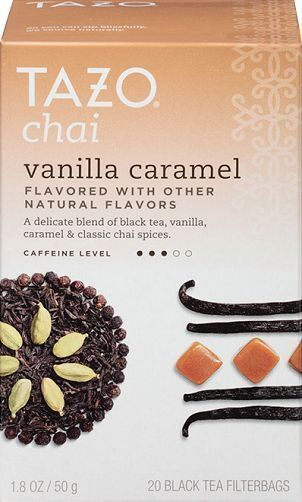 Tazo Chai Vanilla Caramel Tea