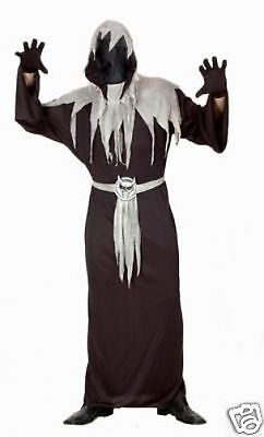 NEW MASTER OF SHADOWS MAN FANCY DRESS ADULT COSTUME HALLOWEEN PARTY GENTS - Shadow Man Costume