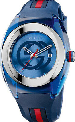 Gucci  YA 137104  Stainless Steel Sync Watch for men