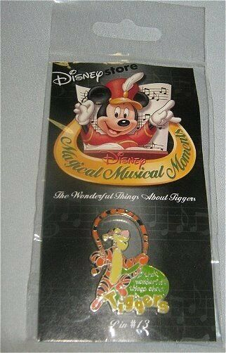 Disney pin Magical Musical Moments Wonderful Thing About Tigger Winnie Pooh