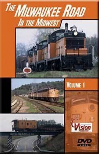 Milwaukee Road in the Midwest Vol 1 DVD NEW Cvision