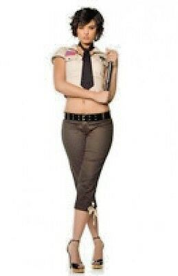 Seductive Sheriff Costume Women's Large Cosplay Fancy Dress - Seductive Costume