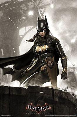 ARKHAM KNIGHT - BATGIRL - BATMAN VIDEO GAME POSTER - 22x34 DC COMICS 14432](Batman Poster)