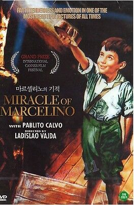 The Miracle Of Marcelino (1955) DVD - Pablito Calvo (New & Sealed)