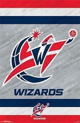Washington Wizards   2014 Logo Poster   22X34 Nba Basketball 13778