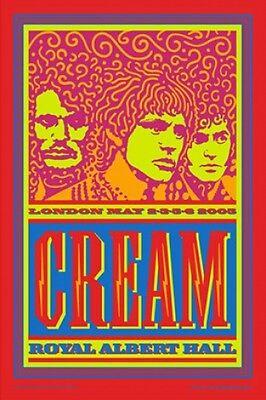 Cream Clapton Eric Clapton Royal Albert Hall Poster John Van Hamersveld Signed