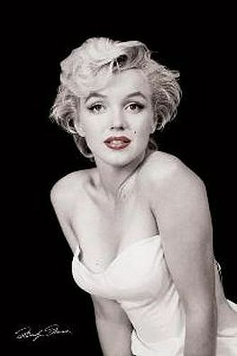 MARILYN MONROE - RED LIPS POSTER 24x36 - 1398