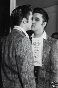 Elvis Presley Very Early BW 10x8 Photo Mirror