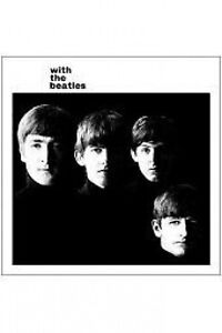 BEATLES-with-the-beatles-2009-VINYL-STICKER-official-merchandise