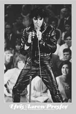 ELVIS PRESLEY - 68 COMEBACK SPECIAL POSTER - 24x36 MUSIC 3404