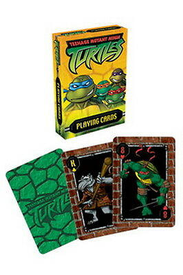 Teenage Mutant Ninja Turtles-spiel (Teenage Mutant Ninja Turtles Spielkarten Modern - Aquarius 52er Blatt - NEU)