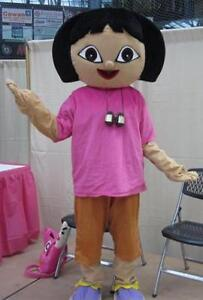DORA THE EXPLORER & SPONGEBOB MASCOT COSTUMES