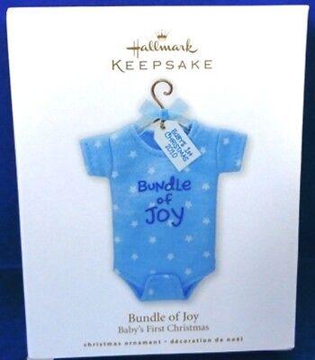 2010 Bundle of Joy Boy Hallmark Retired - Hallmark Bundle