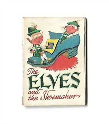 "VINTAGE 1966 Cracker Jack ""ELVES"" Miniature Book"