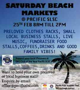 BEACH MARKETS- PRELOVED & LOCAL BUSINESS STALLS & FAMILY FUN Palm Beach Gold Coast South Preview