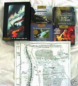 JRR-TOLKIEN-GIFT-SET-with-HOLOGRAM-COVER-CDs-Hobbit-LORD-OF-THE-RINGS-LOTR