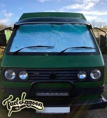 VW T25 Wedge Doka Camper van Full 8 Piece Thermal window Screen Silver Insulated for sale  Leicester