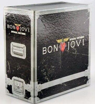 Brand New Sealed Bon Jovi Special Editions 11Cd Box Set Free Ship Free Gift 1A