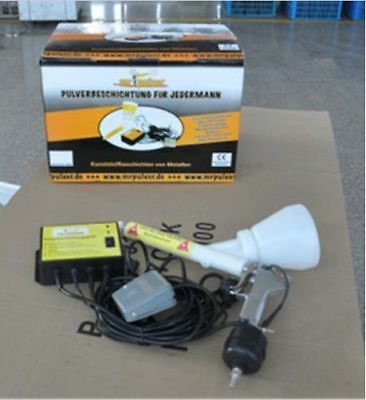 Portable Powder Coating System Paint Gun Coat 02 Brand New U