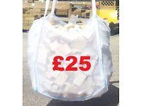 JUMBO BAGS DRIED FIREWOOD £25