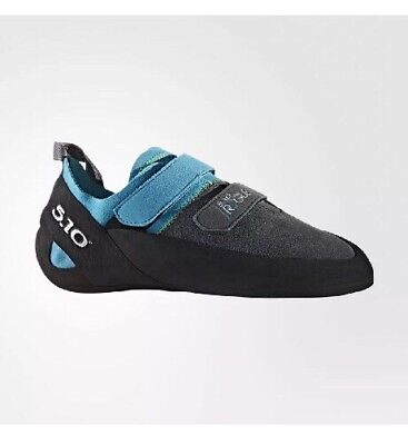 f1a0a57afd2 New Five Ten Men s Rogue VCS Rock Climbing Shoes Neon Blue Charcoal Size 12