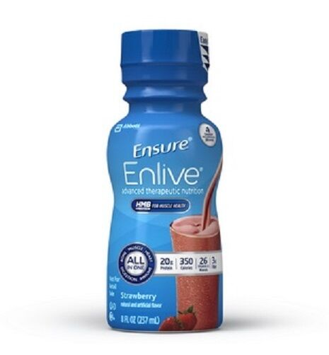 Ensure Enlive Nutritional Shake, Strawberry, 8 Ounce, Abb...