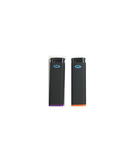 2 Ct Of MK JET BLACK TORCH  Big Full Size Lighters Refillabl
