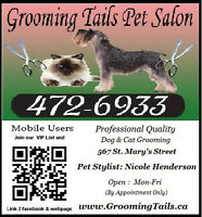 Grooming Tails Pet Salon