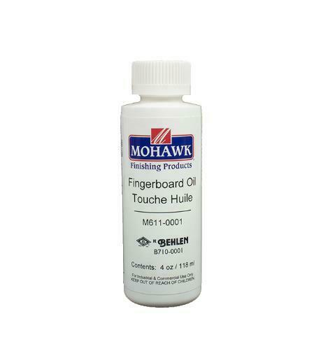 Mohawk Fingerboard Oil 4 oz - Preserve the look of your stringed instrument