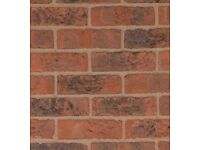 Red bricks-perfect for garden wall