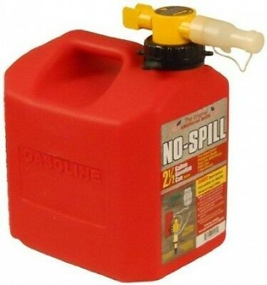 No-spill 2-12-gallon Poly Gas Can Carb Compliant 1405