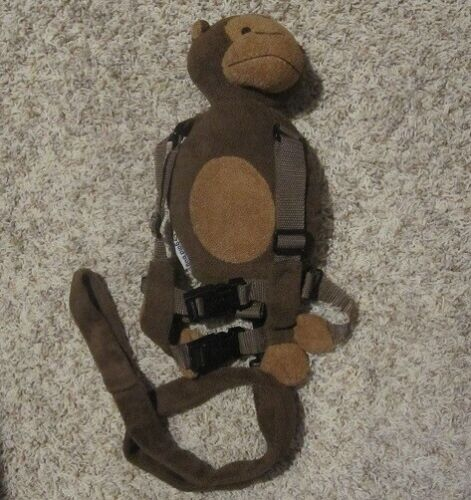 Goldbug Monkey Child Harness Leash Safety Tether